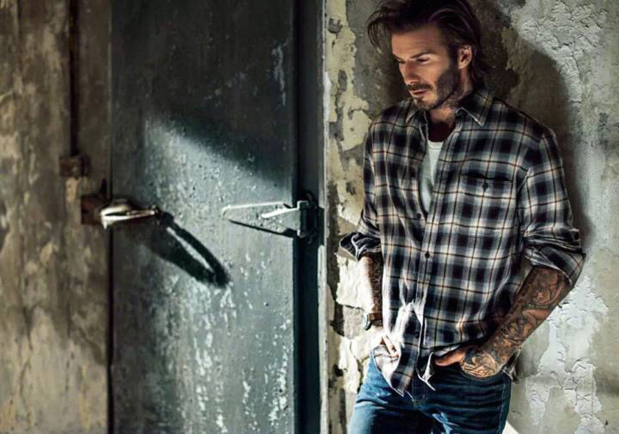 David Beckham Esquire China